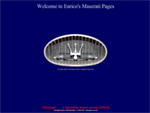 Enrico's Maserati Pages